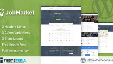 JobMarket – Job Multipurpose WordPress Theme [Free download]