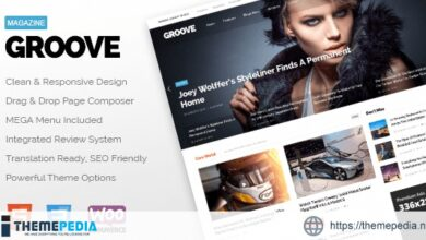 GROOVE – Clean Newspaper & Magazine Theme [Free download]
