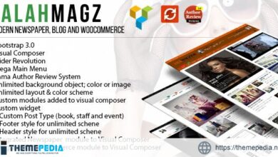 EalahMagz – Modern Magazine Theme [Free download]