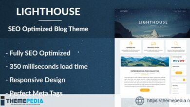 Lighthouse Blog – SEO Optimized and SEO Friendly Blogging Theme [Free download]