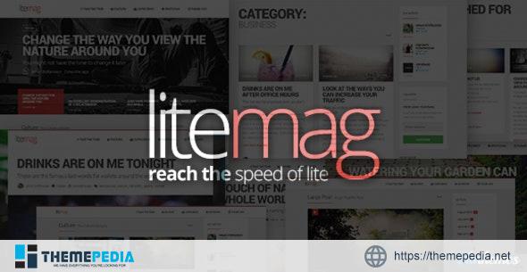 LiteMag – Easy to use Minimalist Magazine Theme [Latest Version]