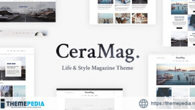 CeraMag – Life & Style Magazine Theme [Free download]