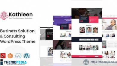 Kathleen – Business Consulting WordPress Theme [Free download]