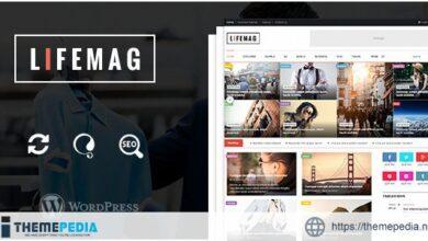 LifeMag – Responsive Magazine WordPress Theme [Updated Version]