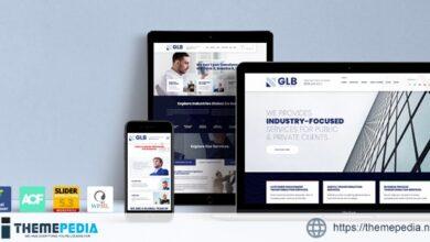 Glb – Responsive Multi-purpose WordPress Theme [Free download]