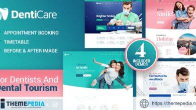 DentiCare – Medical, Dentist & Dental Clinic [Updated Version]