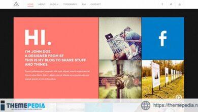 DW Fixel – Responsive WordPress Blog Theme [Free download]