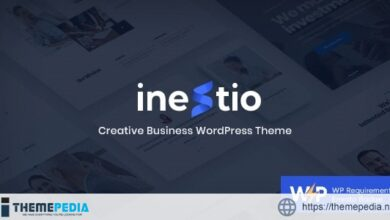 Inestio – Business & Creative WordPress Theme [Free download]
