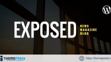 Exposed- News Magazine and Blog WordPress Theme [Free download]