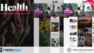 HealthMag – Multipurpose News-Magazine WordPress Theme [Free download]