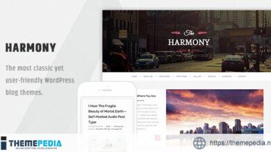 Harmony – Clean Responsive Wordpress Blog Theme [Updated Version]