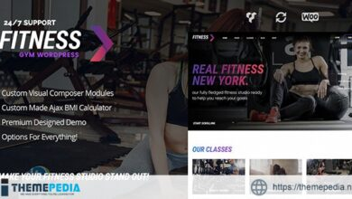 FitnessGym – Personal Trainer & Health WordPress Theme [Latest Version]