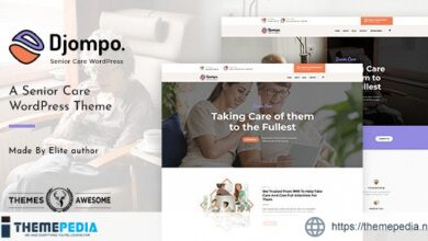 Djompo – Senior Care WordPress Theme [Free download]
