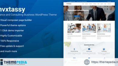 Invxtassy – Finance and Consulting WordPress Theme [Free download]