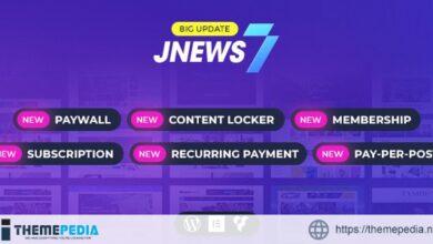 JNews – WordPress Newspaper Magazine Blog AMP Theme [Free download]