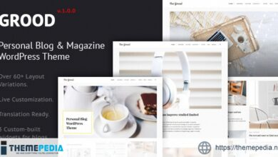 Grood – Personal Blog & Magazine WordPress Theme [Free download]