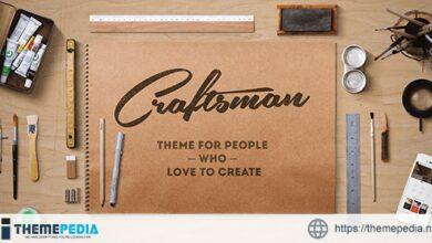 Craftsman – WordPress Craftsmanship Theme [Free download]