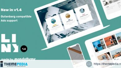 Linx – WordPress Blog & Magazine Theme [Free download]
