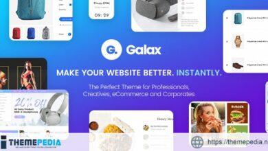 Galax – eCommerce Multi-Purpose WordPress Theme [Free download]