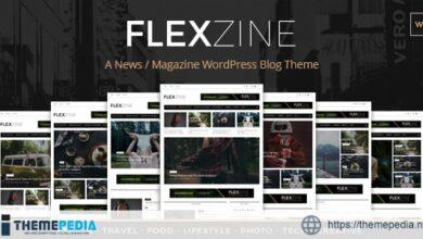 Flexzine – Fashion Magazine WordPress Blog Theme [Free download]