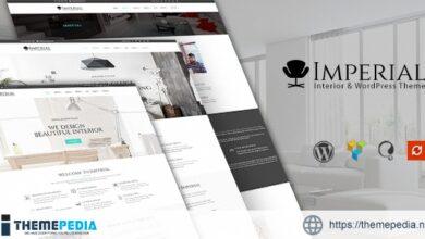 Imperial – Interior WordPress Theme [Free download]