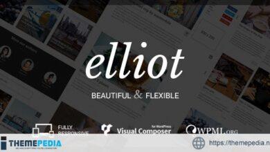 Elliot – Clean Blog-Magazine WordPress Theme [Free download]