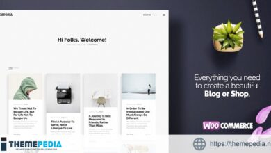 Caprisa – Personal WordPress Blog & Shop WooCommerce Theme [Latest Version]