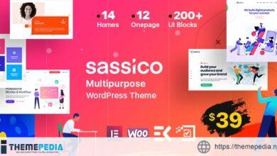Sassico Multipurpose Saas Startup Agency WordPress Theme [Updated Version]