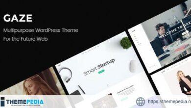Gaze – Responsive Multipurpose WordPress Theme [Updated Version]