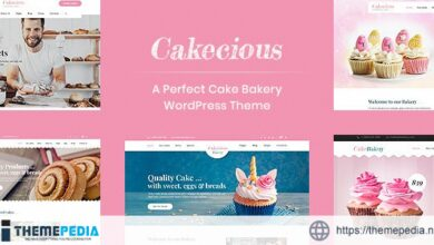 Cakecious – Cake Bakery Food WordPress Theme [nulled]