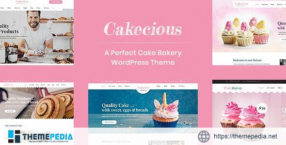 Cakecious – Cake Bakery Food WordPress Theme [nulled]