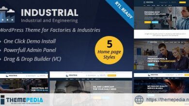 Industrial – Industry and Engineering WordPress Theme [nulled]