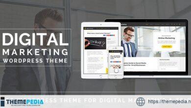 Digital Marketing – Blog WordPress Theme [Updated Version]