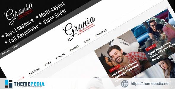Grania – Multilayout Blog & Magazine Theme [Latest Version]