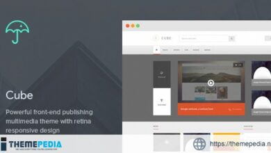 Cube- Front-end Multimedia Publishing WP Theme [Updated Version]