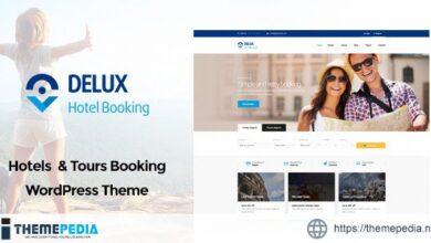 Delux – Online Hotel Booking WordPress Theme [Free download]