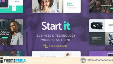 Start It – Technology & Startup WP Theme [Updated Version]