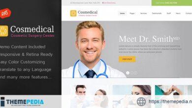 Cosmedical – Health & Medical WordPress Theme [Free download]
