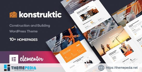 Konstruktic – Construction & Building WordPress Theme [Updated Version]