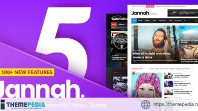 Jannah – Newspaper Magazine News BuddyPress AMP [Free download]