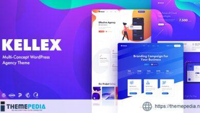 Kellex – WordPress Theme for Saas and Agencies [Free download]