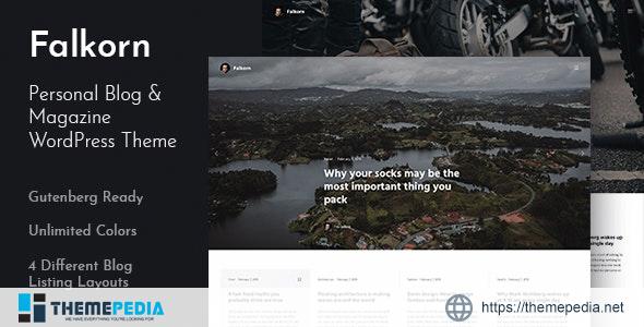 Falkorn – Personal Blog & Magazine WordPress Theme [Free download]