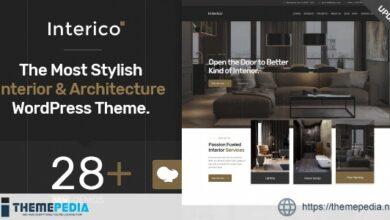 Interico – Interior Design & Architecture WordPress Theme [Latest Version]