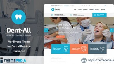 Dentall – Doctor WP Theme [nulled]
