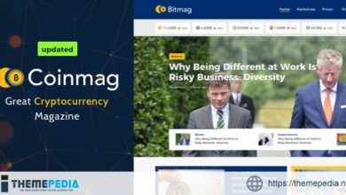 Coinmag – CryptoCurrency Blog WordPress Theme [Free download]