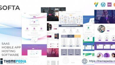 Softa – SaaS, Software & WebApp WordPress [Free download]