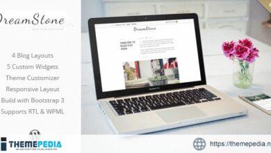 DreamStone – Personal WordPress Blog Theme [Latest Version]