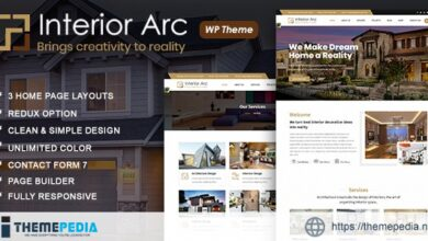 Interior Arc – Architecture WordPress Theme [nulled]