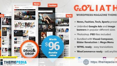 Goliath – Ads Optimized News & Reviews Magazine [Free download]