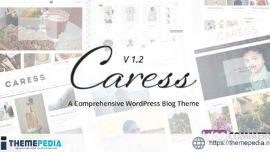 Caress – A Comprehensive WordPress Blog Theme [Updated Version]